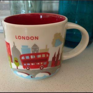 starbucks you are here mug - london